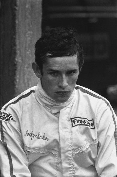 1970 German Grand Prix. Hockenheim, Germany. 31st July - 2nd August 1970. Jacky Ickx (Ferrari 312B), 3rd position, portrait.  World Copyright: LAT Photographic. Ref: 1324D - 31A.