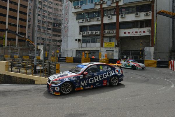 2013 World Touring Car Championship. Round 12 - Circuit de Guia, Macau, China. Sunday 17 November 2013. Race1, Tom Coronel (NLD) BMW E90 320 TC, ROAL Motorsport. World Copyright: XPB Images / LAT Photographic. ref: Digital Image PHOTO4_560389