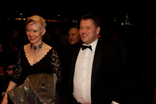 2013 Autosport Awards. Grosvenor House Hotel, Park Lane, London. Sunday 1st December 2013. Paul Hembery, Director, Pirelli. World Copyright: Sam Bloxham/LAT Photographic. ref: Digital Image _LOX6211