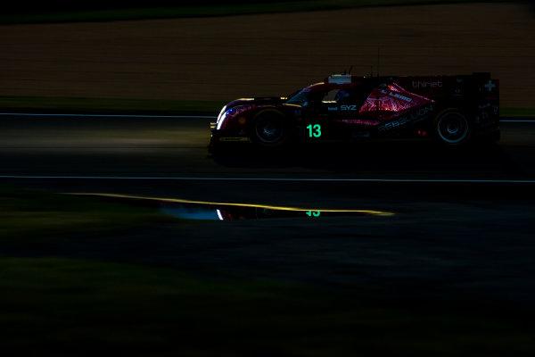 2016 Le Mans 24 Hours. Circuit de la Sarthe, Le Mans, France. Saturday 18 June 2016. Rebellion Racing / Rebellion R-One-AER - Matheo Tuscher (CHE), Alexandre Imperatori (CHE), Dominik Kraihamer (AUT).  World Copyright: Zak Mauger/LAT Photographic ref: Digital Image _79P7826