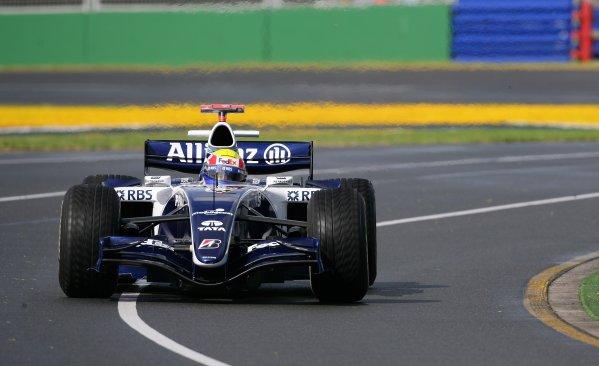 2006 Australian Grand Prix - Saturday Qualifying, Albert Park, Melbourne. Australia. Mark Webber, Williams FW28-Cosworth, action. 1st April 2006  World Copyright: Steve Etherington/LAT Photographic ref: 48mb Hi Res Digital Image Only