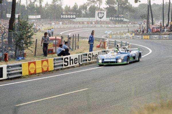1974 Le Mans 24 hours.Le Mans, France. 15-16 June 1974.Henri Pescarolo/Gerard Larrousse (Matra-Simca MS670B), 1st position.World Copyright: LAT PhotographicRef: 35mm transparency 74LM01