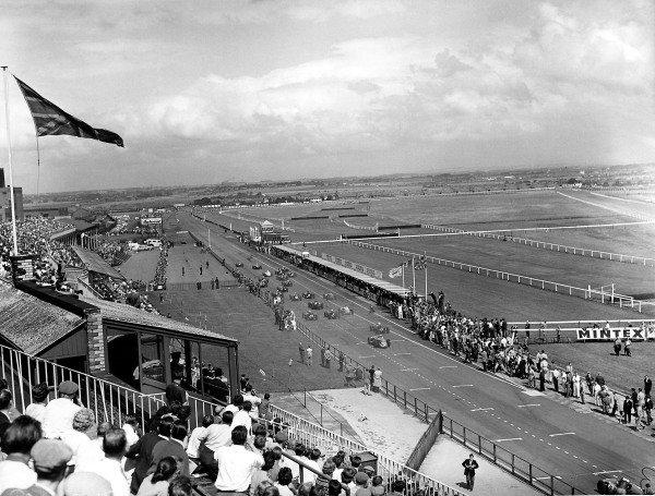 1959 British Grand Prix Aintree.