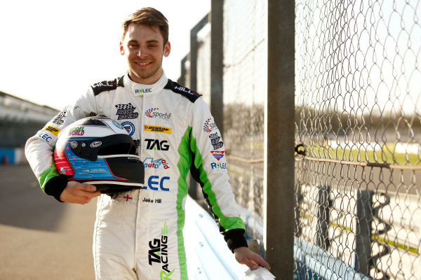 2017 British Touring Car Championship, Donington Park, England. 16th March 2017, Jake Hill (GBR) TAG Racing Volkswagen CC World copyright. JEP/LAT Images