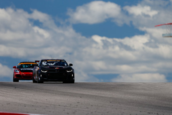 IMSA Continental Tire SportsCar Challenge Advance Auto Parts SportsCar Showdown Circuit of The Americas, Austin, TX USA Thursday 4 May 2017 57, Chevrolet, Chevrolet Camaro GT4.R, GS, Matt Bell, Robin Liddell World Copyright: Jake Galstad LAT Images