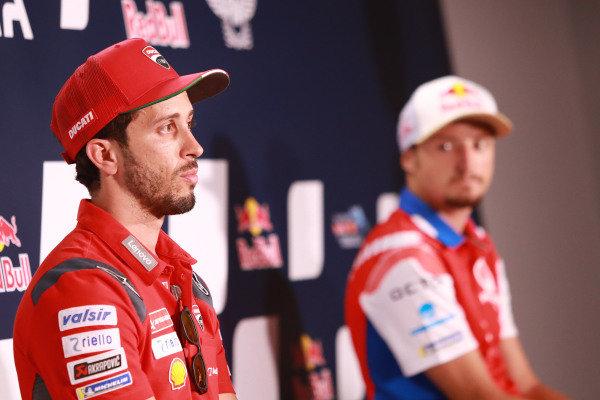 Andrea Dovizioso, Ducati Team, Jack Miller, Pramac Racing.