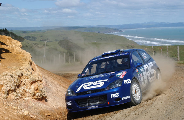 2002 World Rally Championship.Propecia Rally of New Zealand, Auckland, October 3rd-6th.Markko Martin on stage 4Photo: Ralph Hardwick/LAT