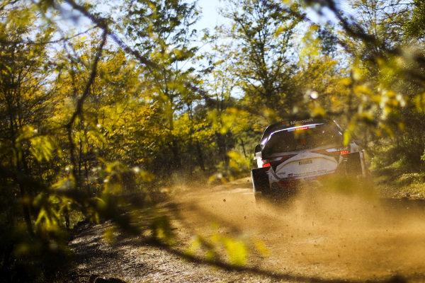 Jari-Matti Latvala (FIN) / Miikka Anttila (FIN), Toyota Gazoo Racing Toyota Yaris WRC at World Rally Championship, Rd5, Rally Argentina, Day One, Villa Carlos Paz, Cordoba, Argentina, 28 April 2017.