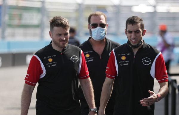 Oliver Rowland (GBR), Nissan e.Dams Sebastien Buemi (CHE), Nissan e.Dams