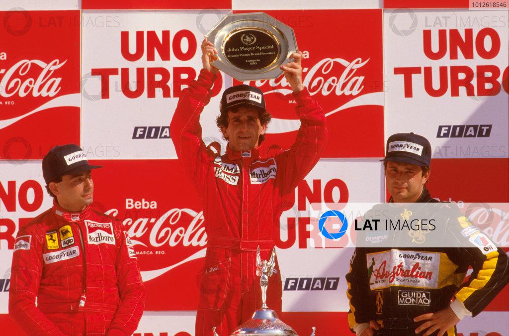 1985 Brazilian Grand Prix.