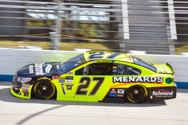 Monster Energy NASCAR Cup Series Apache Warrior 400 Dover International Speedway, Dover, DE USA Friday 29 September 2017 Paul Menard, Richard Childress Racing, Richmond/Menards Chevrolet SS World Copyright: Nigel Kinrade LAT Images