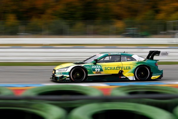 2017 DTM Round 9  Hockenheimring, Germany  Friday 13 October 2017. Mike Rockenfeller, Audi Sport Team Phoenix, Audi RS 5 DTM  World Copyright: Alexander Trienitz/LAT Images ref: Digital Image 2017-DTM-HH2-AT2-0338