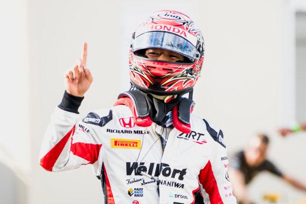2017 FIA Formula 2 Round 9. Autodromo Nazionale di Monza, Monza, Italy. Friday 1 September 2017. Nobuharu Matsushita (JPN, ART Grand Prix).  Photo: Zak Mauger/FIA Formula 2. ref: Digital Image _54I6166
