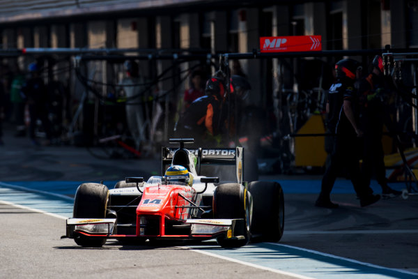 2017 FIA Formula 2 Round 10. Circuito de Jerez, Jerez, Spain. Sunday 8 October 2017. Sergio Sette Camara (BRA, MP Motorsport).  Photo: Zak Mauger/FIA Formula 2. ref: Digital Image _56I7828