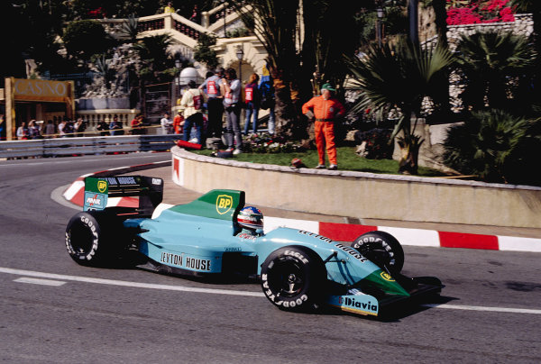 1991 Monaco Grand Prix.
