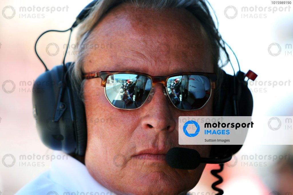 Mansour Ojjeh, McLaren shareholder. Formula One World Championship, Rd 11, European Grand Prix, Qualifying Day, Valencia Spain, Saturday 22 August 2009.