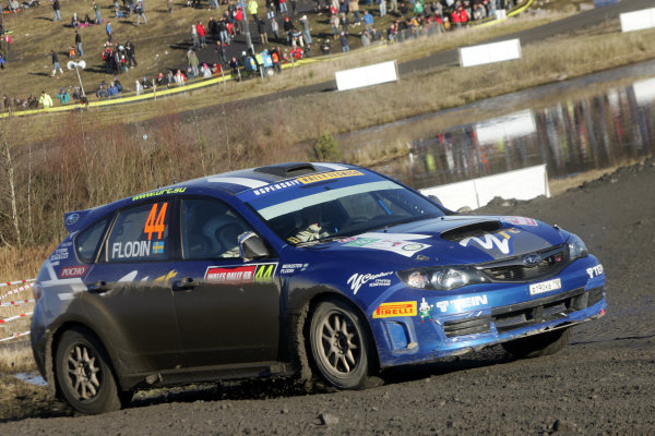 Round 15, Wales Rally GB, 4th-7th December 2008 Patrick Flodin, Subaru, ActionWorldwide Copyright: McKlein/LAT