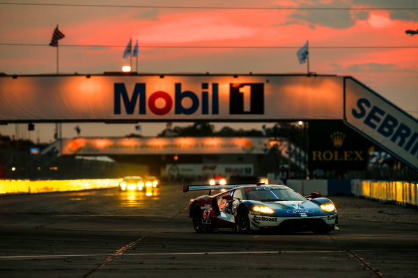 16-19 March, 2016, Sebring, Florida, USA 67, Ford GT, GT, GTLM, Ryan Briscoe, Scott Dixon, Richard Westbrook ?2016, Michael L. Levitt LAT Photo USA