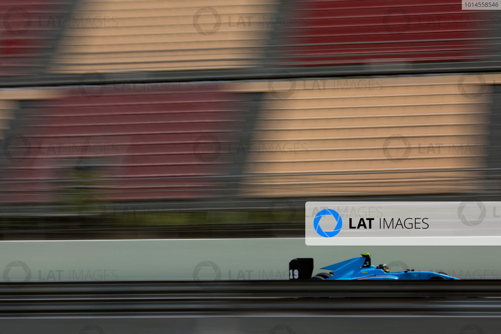 2016 Barcelona Testing. Circuit de Catalunya, Barcelona, Spain. Thursday 21st April. Richard Gonda (SVK, Jenzer Motorsport). Action.  World Copyright: Alastair Staley/LAT Photographic. ref: Digital Image 585A7967
