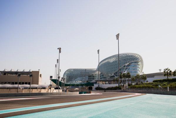 2017 GP3 Series Round 8.  Yas Marina Circuit, Abu Dhabi, United Arab Emirates. Thursday 23 November 2017. A view of the circuit. Photo: Zak Mauger/GP3 Series Media Service. ref: Digital Image _56I8255
