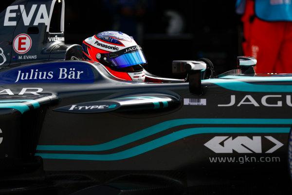 2017/2018 FIA Formula E Championship. Round 1 - Hong Kong, China. Saturday 02 December 2017. Mitch Evans (NZL), Panasonic Jaguar Racing, Jaguar I-Type II. Photo: Sam Bloxham/LAT/Formula E ref: Digital Image _W6I6195