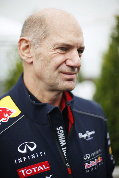 8th June 2013 Adrian Newey, Chief Technical Officer, Red Bull Racing World Copyright: Charles Coates/  ref: Digital Image _N7T6010