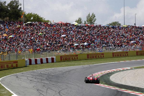 Circuit de Catalunya, Barcelona, Spain 12th May 2013 Felipe Massa, Ferrari F138.  Photo: Andrew Ferraro/LAT Photographic ref: Digital Image _79P5900