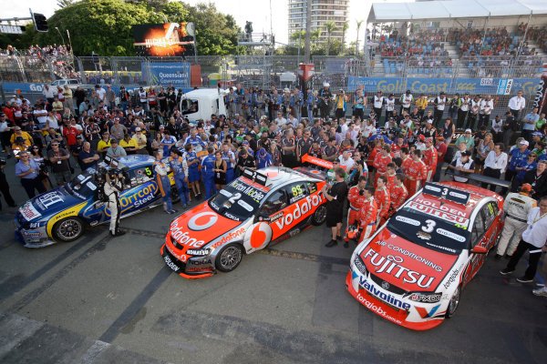 during the Armor All Gold Coast 600, event 11 of the 2011 Australian V8 Supercar Championship Series at the Gold Coast Street Circuit, Gold Coast, Queensland, Sunday, October 23, 2011.