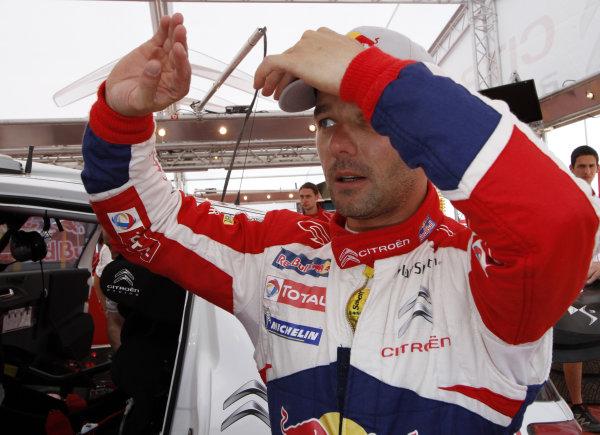 Round 04 Rally Jordan. 14th-16th April 2011.Sebastien Loeb, Citroen WRC, Portrait.Worldwide Copyright: McKlein/LAT