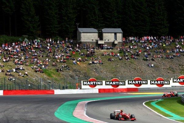 Kimi Raikkonen (FIN) Ferrari F60. Formula One World Championship, Rd 12, Belgian Grand Prix, Practice Day, Spa-Francorchamps, Belgium, Friday 28 August 2009. BEST IMAGE