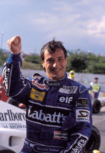 Riccardo Patrese.