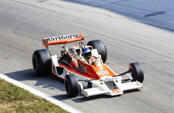 Patrick Tambay, McLaren M26 Ford.
