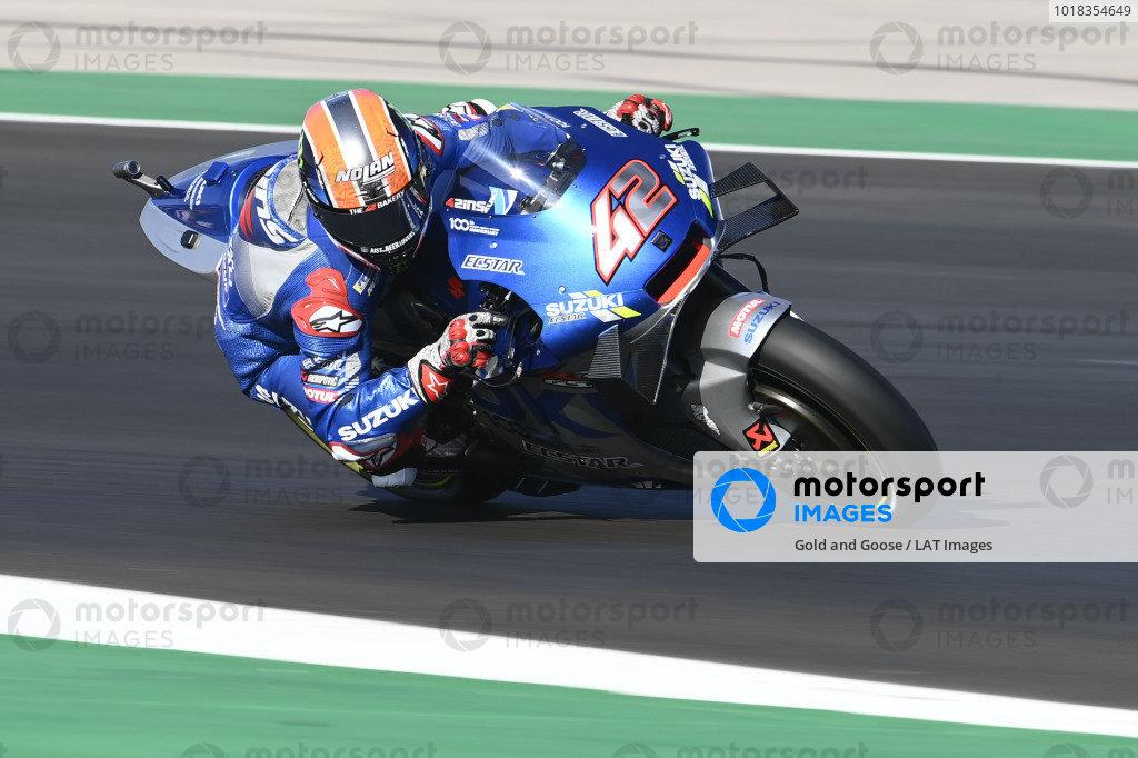 Alex Rins, Team Suzuki MotoGP .