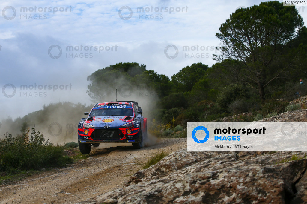 Dani Sordo (ESP), Hyundai World Rally Team, Hyundai i20 Coupe WRC 2020