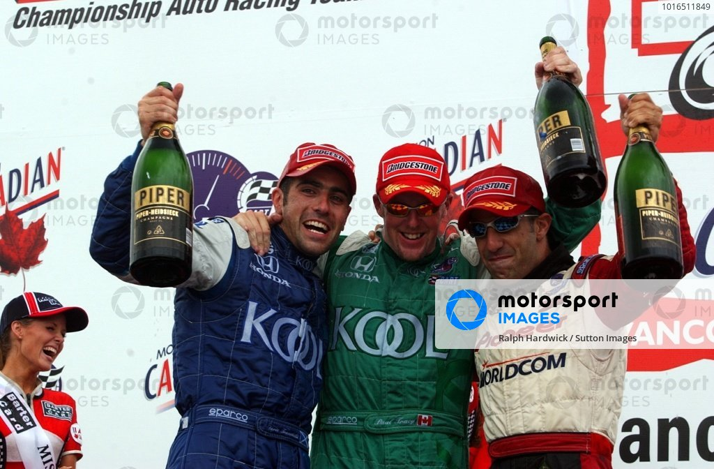Podium and results: L-R;