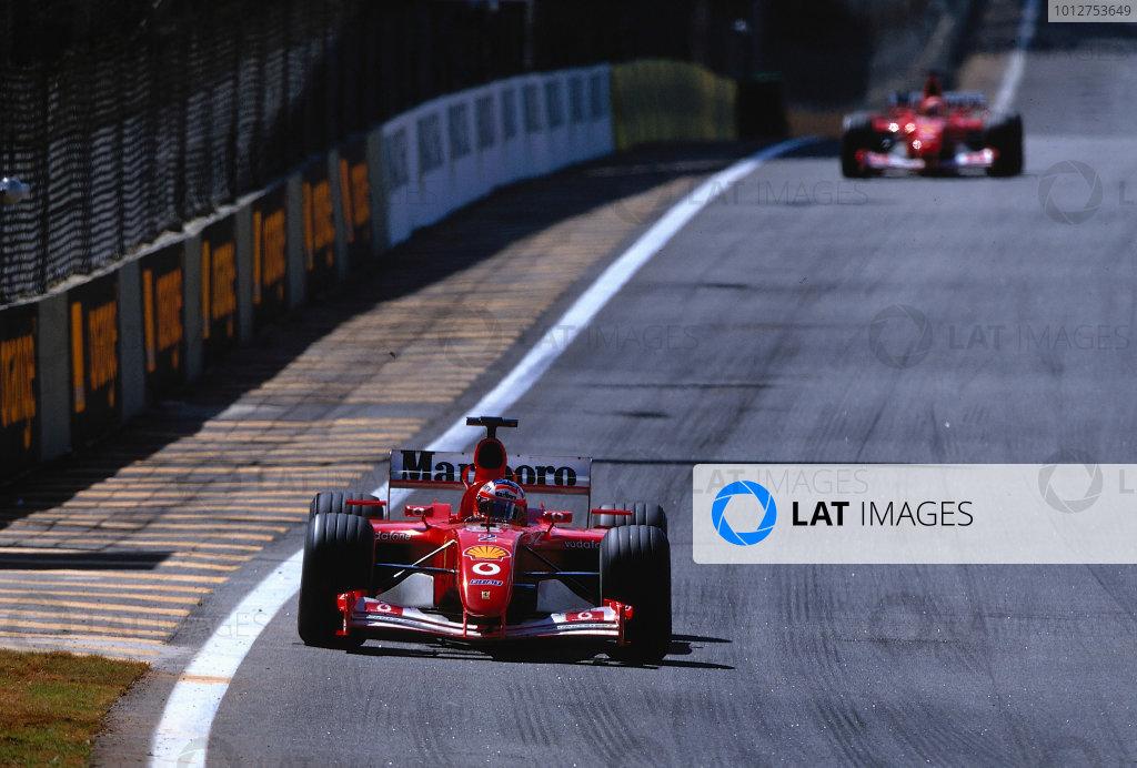 2002 Brazilian Grand Prix, Interlagos, Brazil.