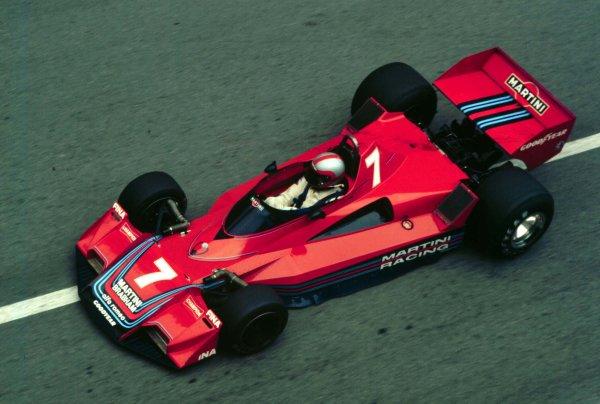 1977 Monaco Grand Prix.Monte Carlo, Monaco.20-22 May 1977.John Watson (Brabham BT45B Alfa Romeo).World Copyright - LAT Photographic