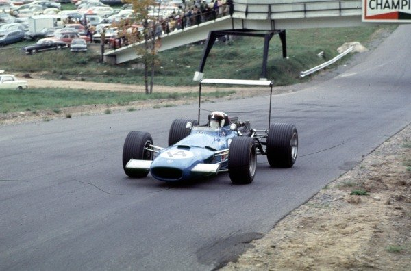 1968 Canadian Grand Prix.Mont-Tremblant, (St. Jovite), Quebec, Canada.20-22 September 1968.Jackie Stewart (Matra MS10 Ford) 6th position.Ref-68 CAN 28.World Copyight - LAT Photographic