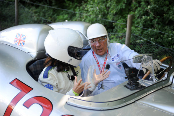 2015 Goodwood Festival of Speed 25th - 28th June 2015 Sior Stirling Moss World Copyright : Jeff Bloxham/LAT Photographic Ref : Digital Image