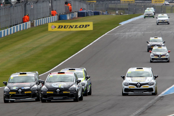 2015 Renault Clio Cup, Donington Park, 18th - 19th April 2015 Ant Whorton Eales (GBR) SV Racing Renault Clio Cup World copyright. Jakob Ebrey/LAT Photographic