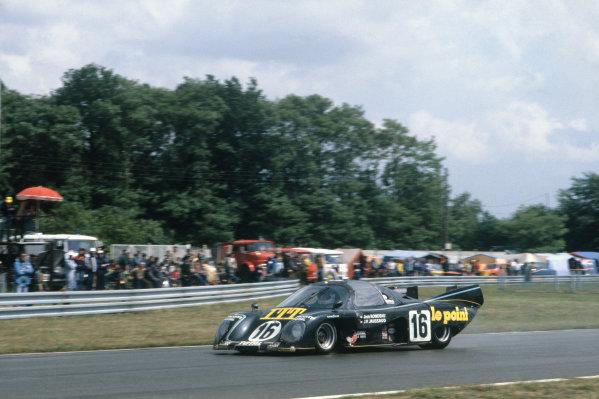 1980 Le Mans 24 Hours. Le Mans, France. 14th - 15th June 1980. Jean Rondeau / Jean-Pierre Jaussaud (Rondeau M379B Ford), 1st position, action.  World Copyright: LAT Photographic. Ref: 80LM03.