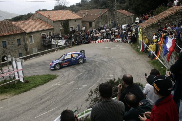 2006 FIA World Rally Champs. Round 5 Rally de France 5-8 April 2006 Xavier Pons, Citroen, actionWorld Copyright: McKlein/LAT