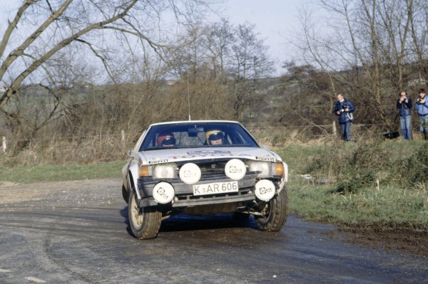 1982 World Rally Championship.Lombard RAC Rally, Great Britain. 21-25 November 1982.Bjorn Waldegaard/Ragnar Spjuth (Toyota Celica 2000GT), 7th position.World Copyright: LAT PhotographicRef: 35mm transparency 82RALLY13