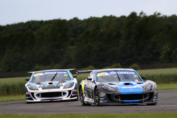 2017 Ginetta GT4 Supercup,  Croft, North Yorkshire. 10th-11th June 2017, Andy Wilmot (GBR) HARD Ginetta GT4 World copyright. JEP/LAT Images