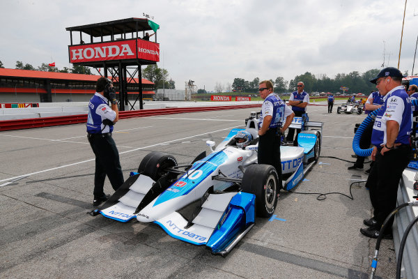 Verizon IndyCar Series Honda Indy 200 at Mid-Ohio Mid-Ohio Sports Car Course, Lexington, OH USA Friday 28 July 2017 Alexander Rossi, Andretti Herta Autosport with Curb-Agajanian Honda World Copyright: Phillip Abbott LAT Images ref: Digital Image abbott_midohio_0717_0036