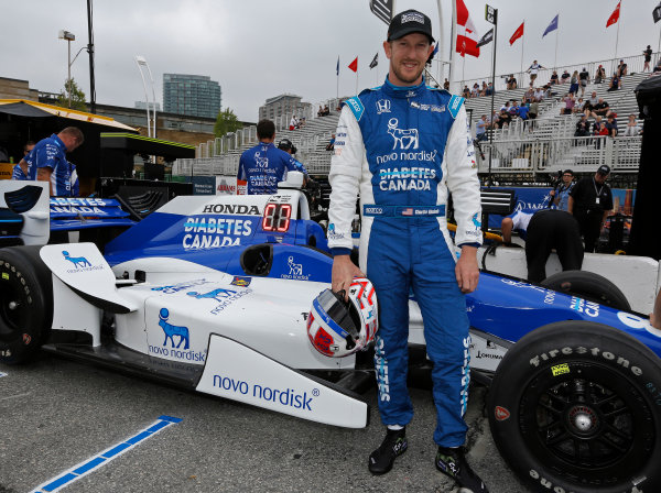 Verizon IndyCar Series Honda Indy Toronto Toronto, ON CAN Friday 14 July 2017 Charlie Kimball, Chip Ganassi Racing Teams Honda World Copyright: Phillip Abbott LAT Images ref: Digital Image abbott_toronto_0717_0019