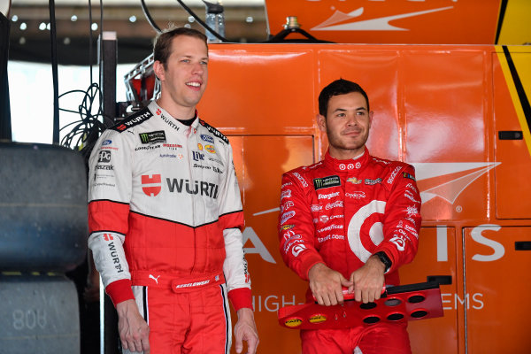Monster Energy NASCAR Cup Series AAA 400 Drive for Autism Dover International Speedway, Dover, DE USA Friday 2 June 2017 Brad Keselowski, Team Penske, Wurth Ford Fusion, Kyle Larson, Chip Ganassi Racing, Target Chevrolet SS World Copyright: Logan Whitton LAT Images ref: Digital Image 17DOV1LW1497