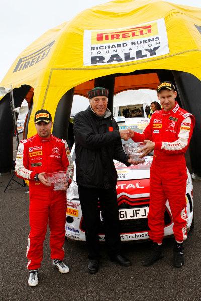 2013 MSA British Rally Championship,. Pirelli Richard Burns Foundation Rally, Carlisle. 4th - 5th May 2013. Jukka Korhonen - Citroen DS3RT with Alex Burns World Copyright: Ebrey / LAT Photographic.