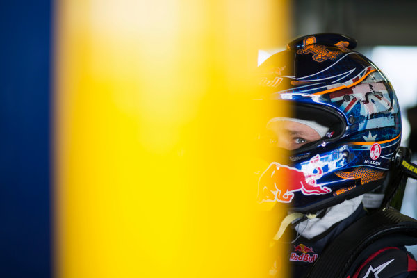 2013 V8 Supercar Championship. Round 1. Clipsal 500, Adelaide. 28th February 2013. Thursday Practice. Casey Stoner (Red Bull Racing Australia/Triple Eight Race Engineering – Holden Commodore VE II) Portrait. World Copyright:  Daniel Kalisz/LAT Photographic Ref: Digital Image DKAL2733.JPG .