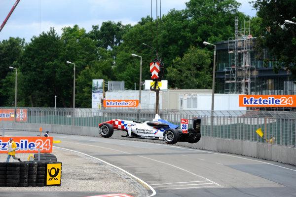 2014 FIA European F3 Championship Round 6 - Norisring, Germany. 27th - 29th June 2014 Jake Dennis (GBR) CARLIN Dallara F312 Volkswagen World Copyright: XPB Images / LAT Photographic  ref: Digital Image 3191162_HiRes